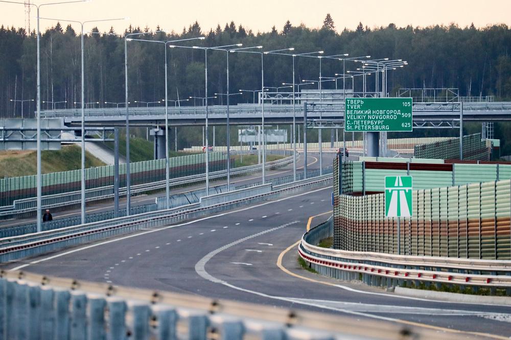 Проект этапа строительства высокоскоростной автомагистрали Москва – Санкт-Петербург одобрен Главгосэкспертизой