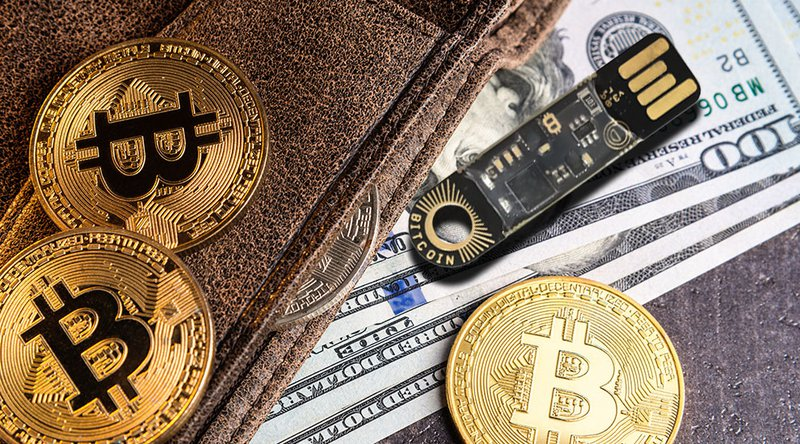 The number of bitcoin-storing wallets is constantly increasing