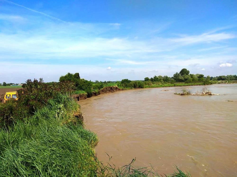 На реке Лабе в Адыгее пройдут берегоукрепительные работы
