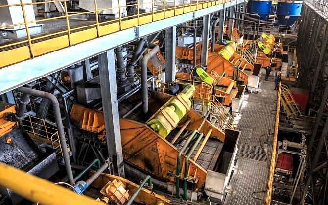 На обогатительной фабрике «Денисовская» увеличат мощности по переработке рядовых углей