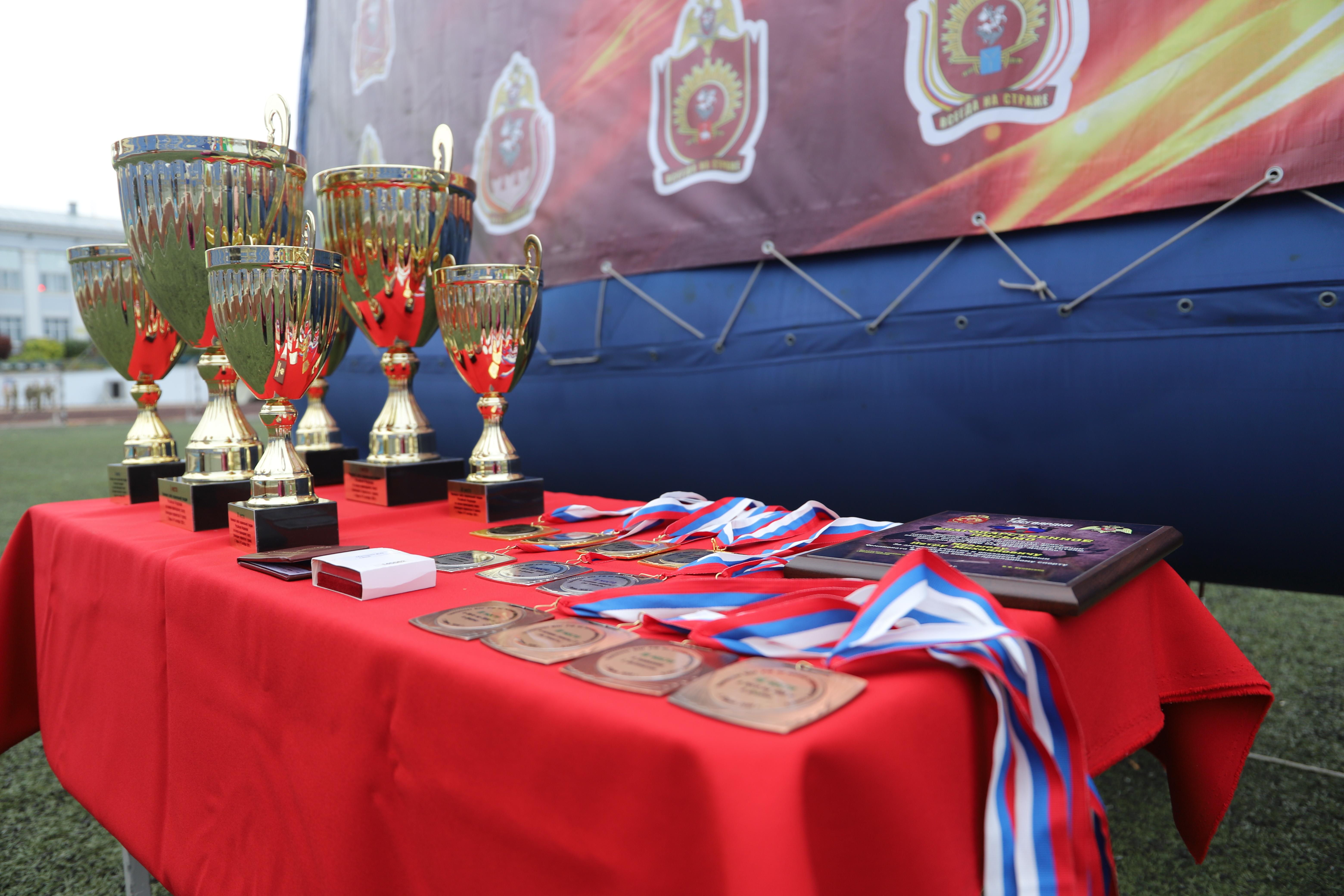 В Перми прошла церемония официального открытия II Чемпионата Росгвардии по военно-прикладному спорту