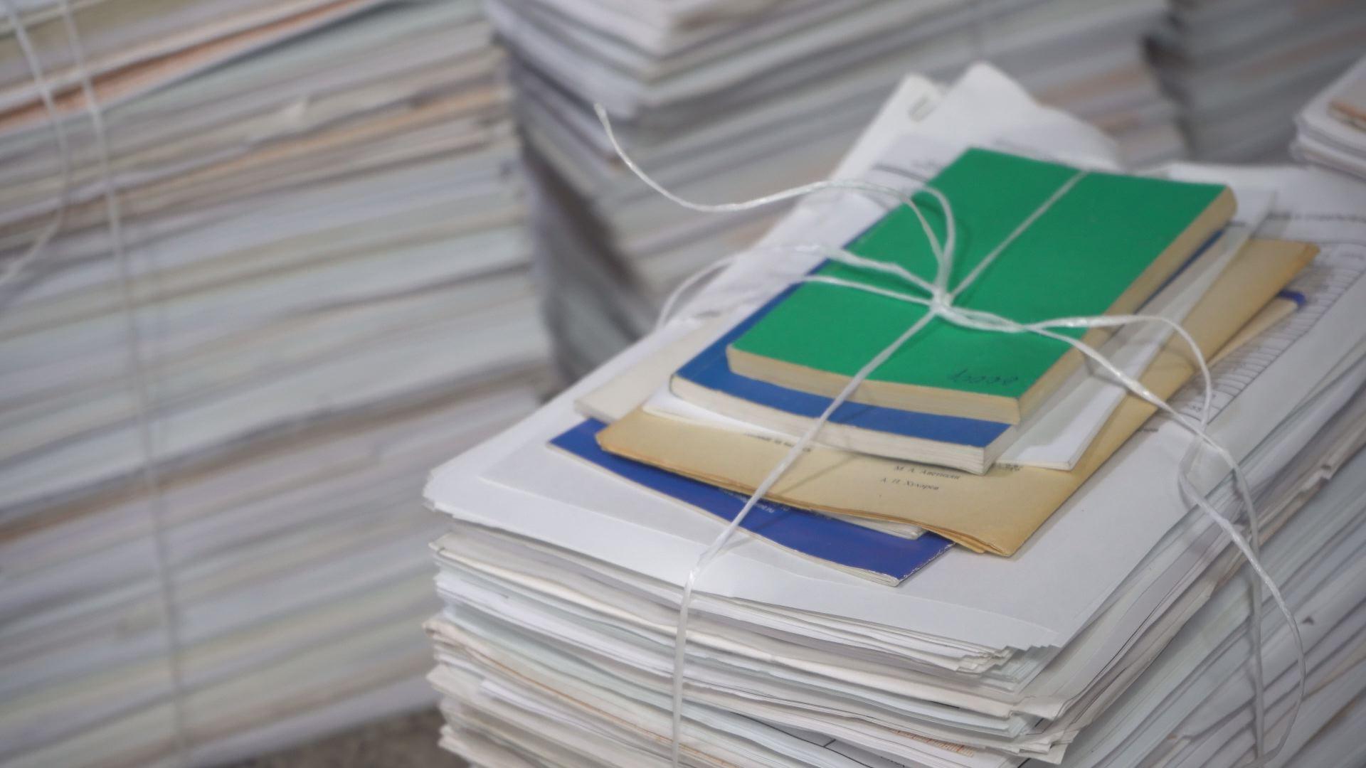 Сохраняя лес: волонтеры ИрГУПС собрали 2 тонны макулатуры
