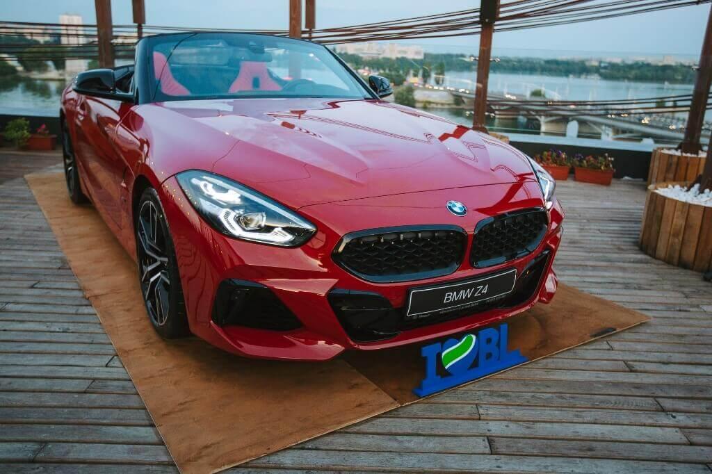 «Балтийский лизинг» выступил официальным партнером презентации нового родстера BMW Z4