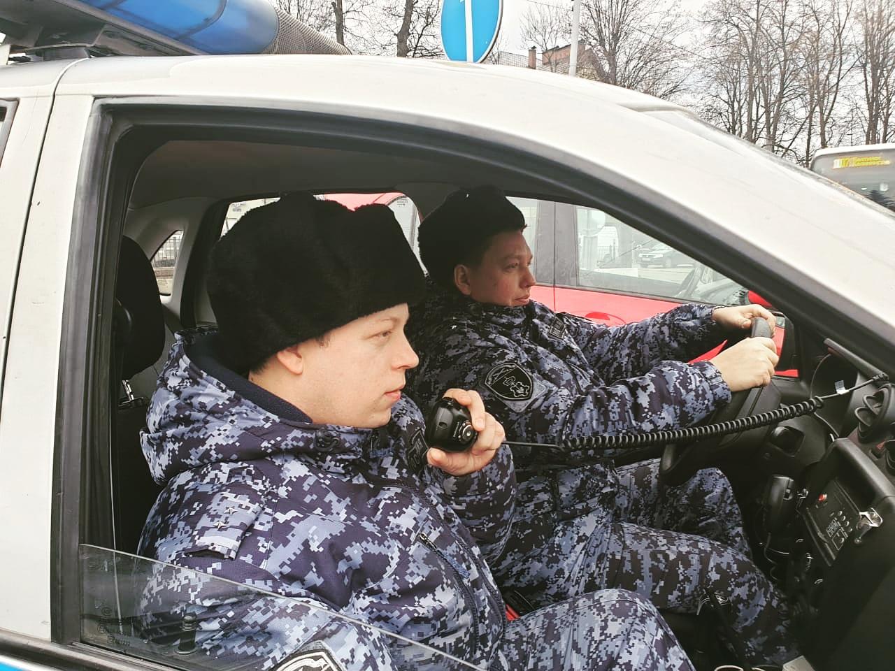 В Калининграде сотрудники вневедомственной охраны задержали мужчину, который совершил несколько краж в одном и том же магазине
