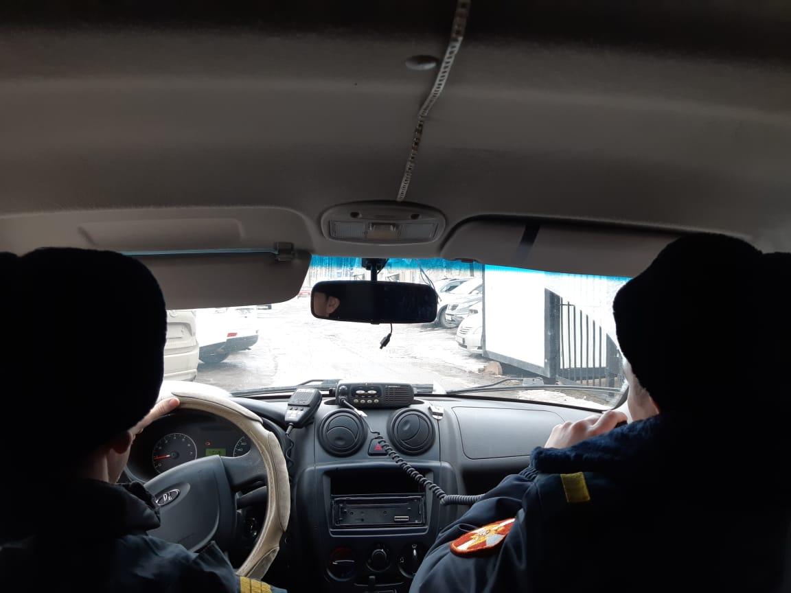В Югре сотрудники Росгвардии задержали автоугонщика