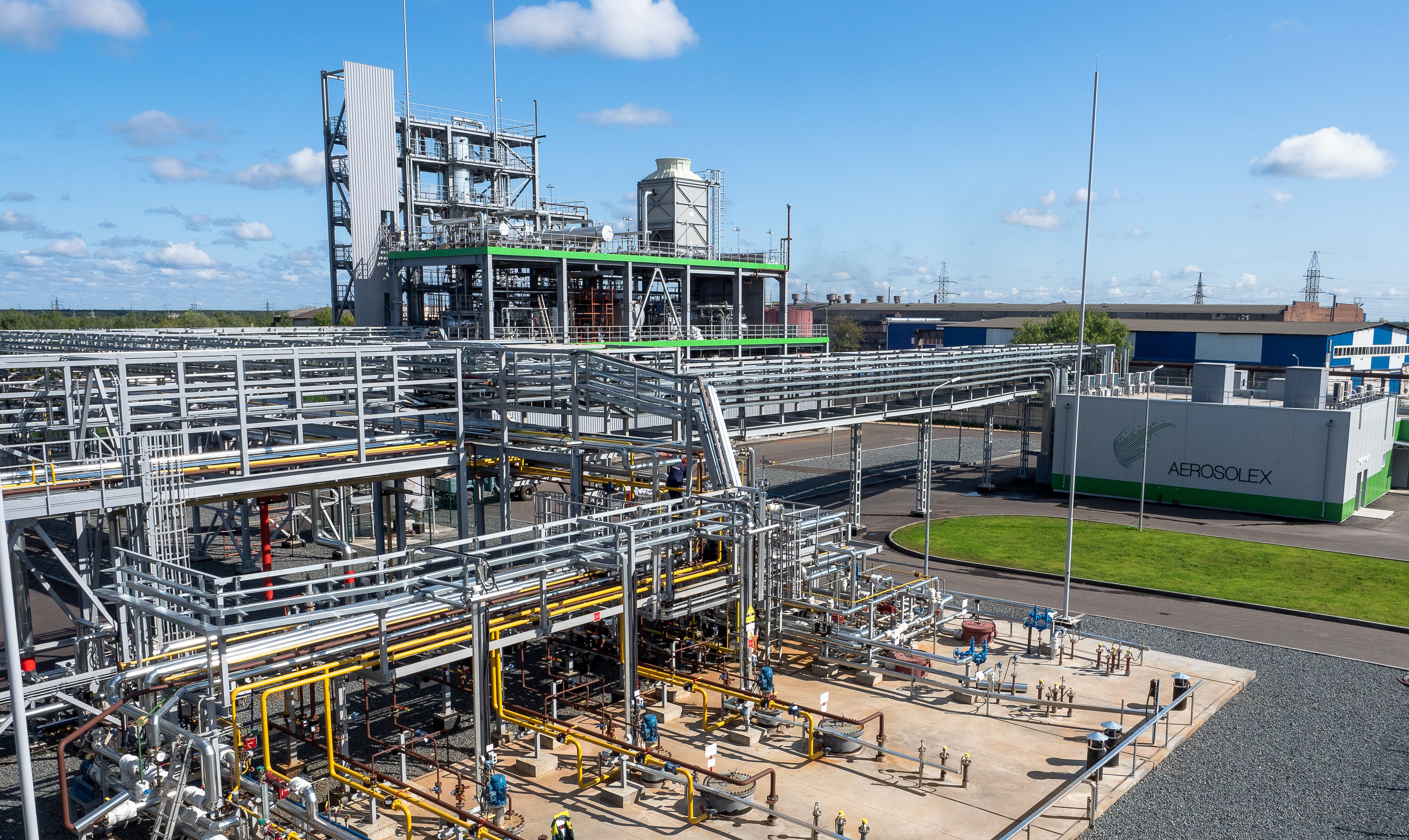 AEROSOLEX COMPLETES COMMISSIONING OF  HIGH PURITY DIMETHYL ETHER PRODUCTION PLANT