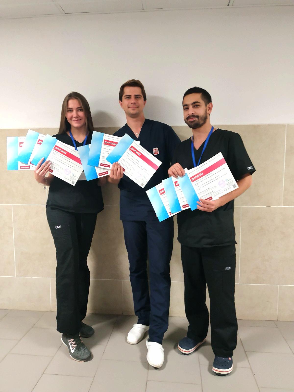 Студенты СГМУ заняли призовые места на Всероссийской универсиаде для хирургов-универсалов
