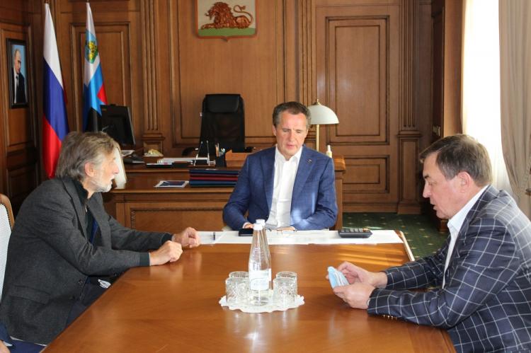 Ректор НИУ «БелГУ» обсудил с главой региона перспективы развития генетических технологий