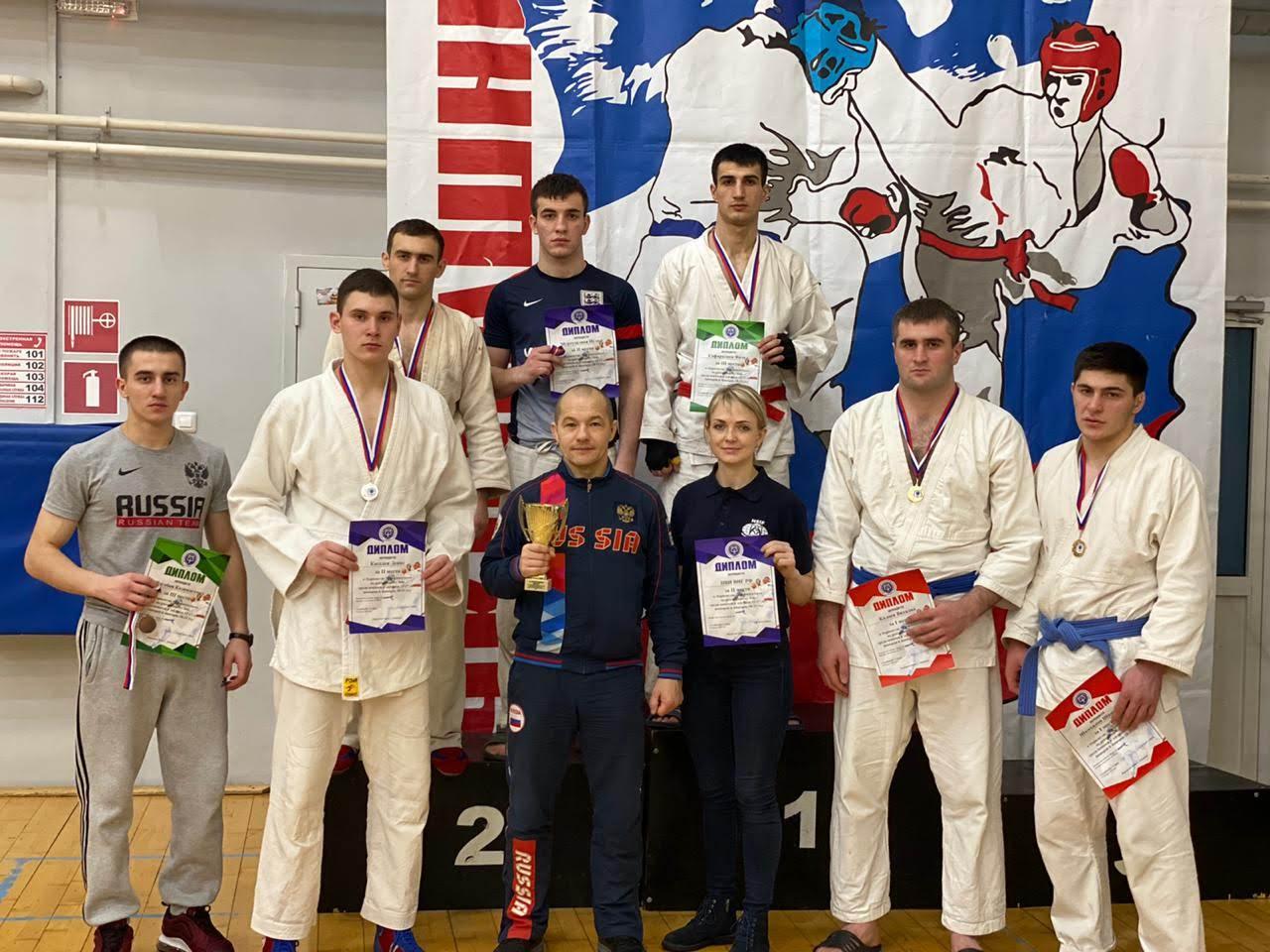 Курсанты Пермского военного института Росгвардии заняли призовые места в соревнованиях по рукопашному бою