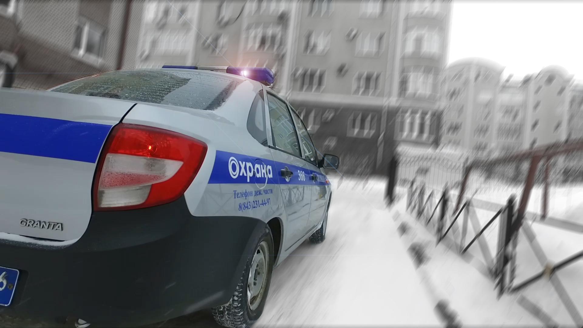 В Казани сотрудники Росгвардии задержали подозреваемых в совершении грабежа
