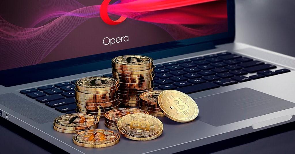 Opera интегрирует домен «crypto»