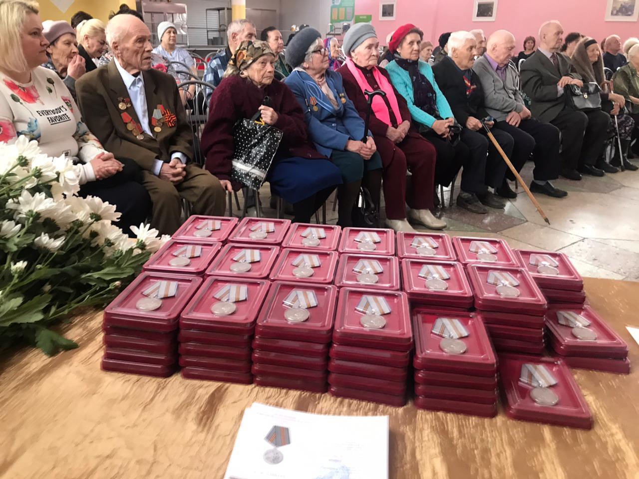 В Уфе сотрудники Росгвардии приняли участие в церемонии вручения юбилейных медалей «75 лет Победы в Великой Отечественной войне 1941-1945 гг.»