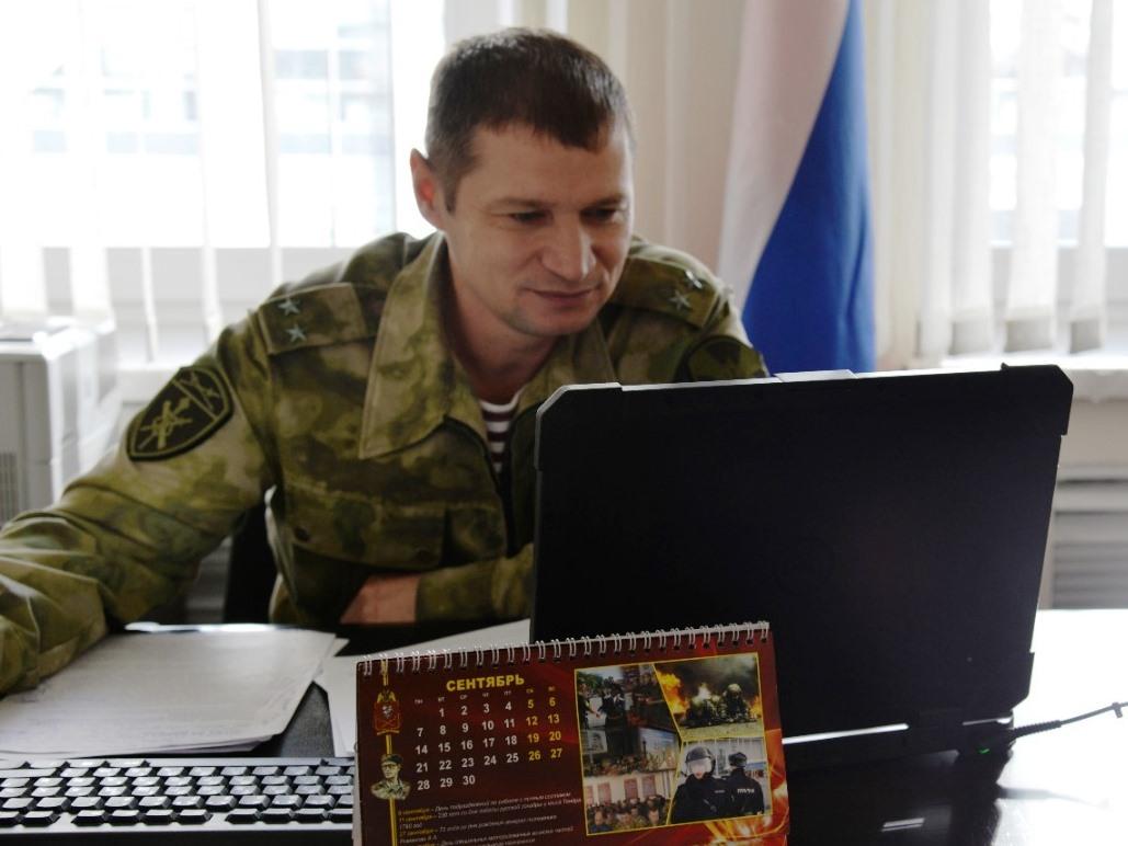 В Югре офицер Росгвардии рассказал подшефным школьникам о победе Красной армии в битве за Кавказ