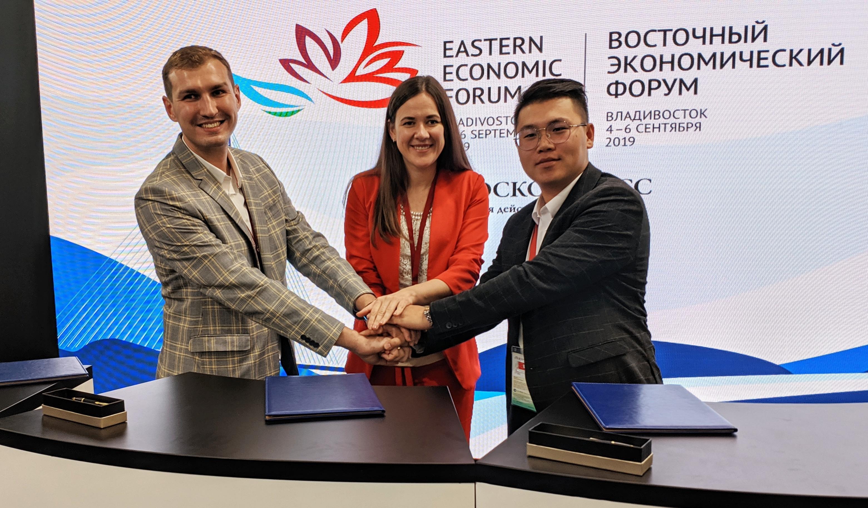 Российско-Китайский центр инновационного предпринимательства (РКЦИП) и Технопарк «Русский» создали «Российско-Китайский акселератор» для выхода стартапов на рынок Китая