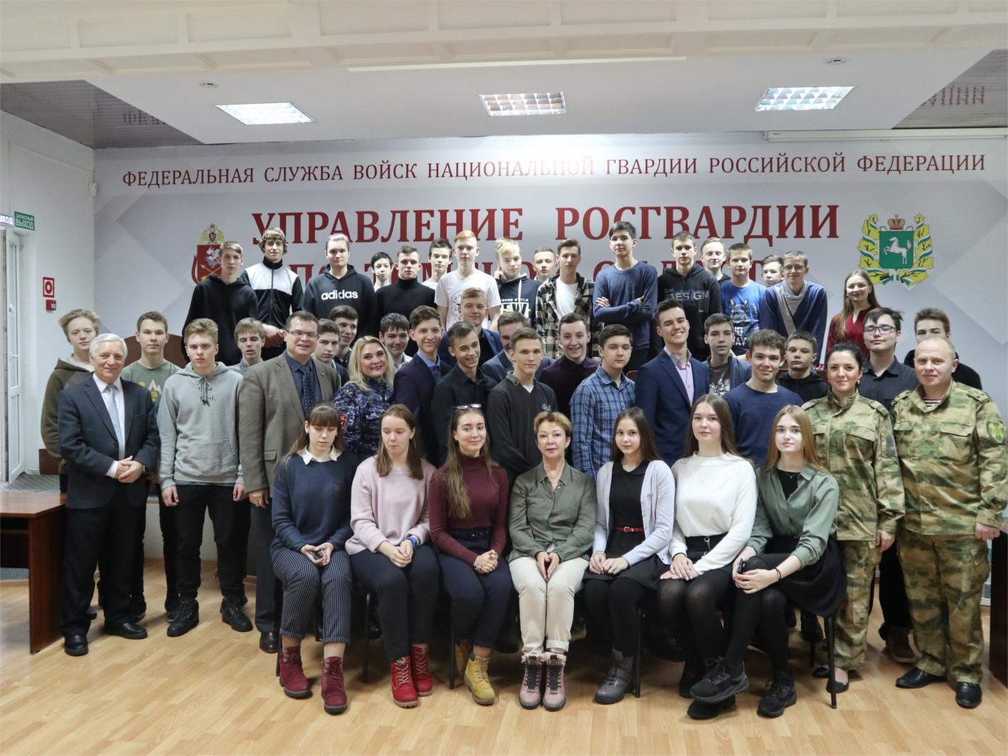 Томские росгвардейцы провели для томских и северских школьников День открытых дверей