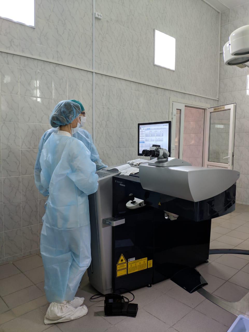 В клинике глазных болезней СГМУ оперируют с помощью лазера нового поколения