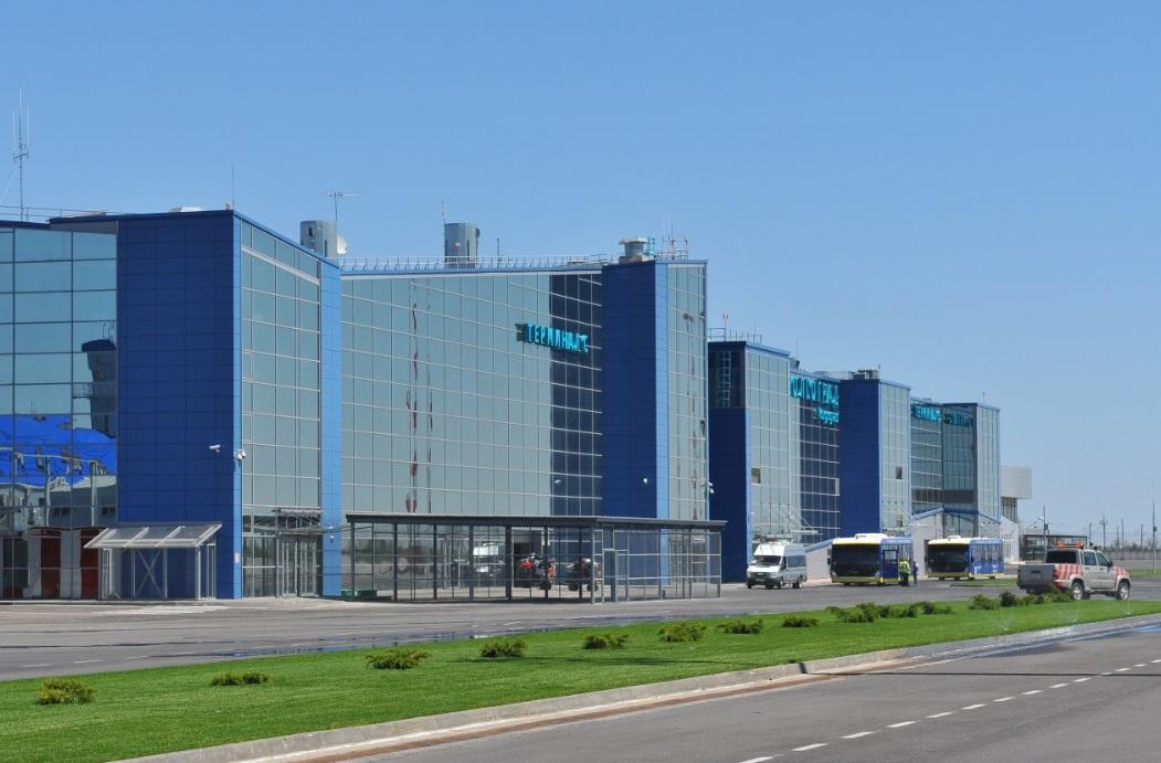 В аэропорту Волгограда объединят терминалы внутренних и международных авиалиний