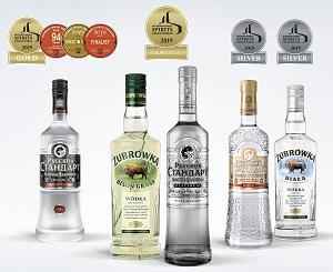 «Двойное золото» брендов «Русский Стандарт Platinum» и Żubrówka Bison Grass на престижном международном конкурсе International Spirits Challenge
