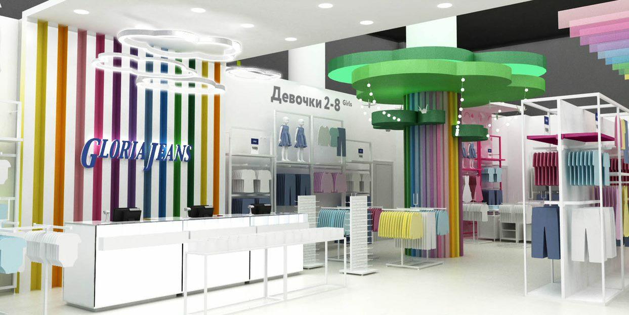 Gloria Jeans открывает магазин нового формата специально для детей