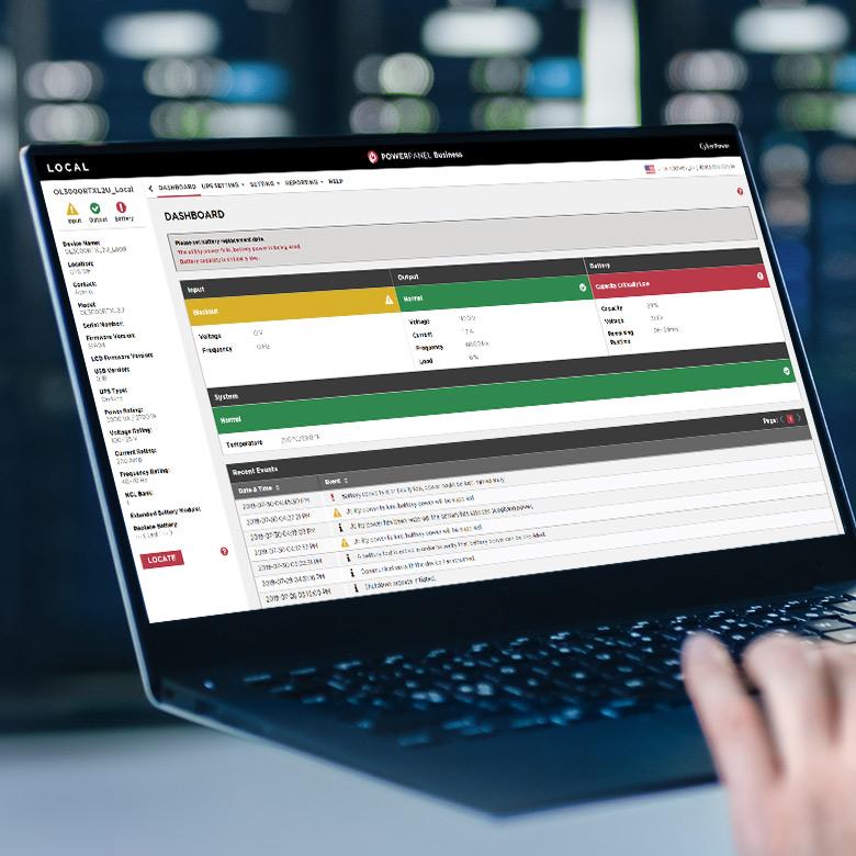 CyberPower PowerPanel для управления питанием центра обработки данных
