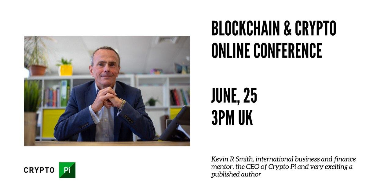 We are excited to announce a live online conversation with Kevin R. Smith, an international FinTech mentor and the CEO of Crypto Pi!
