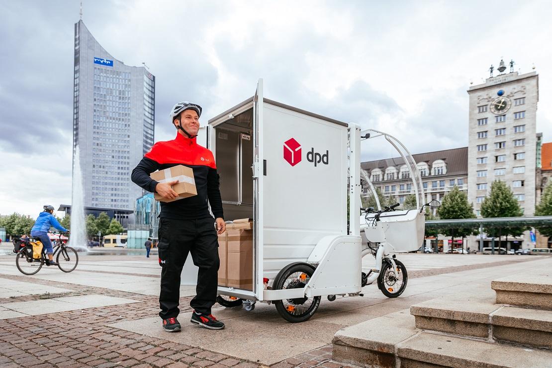 DPD в Германии: грузовые велосипеды для доставки
