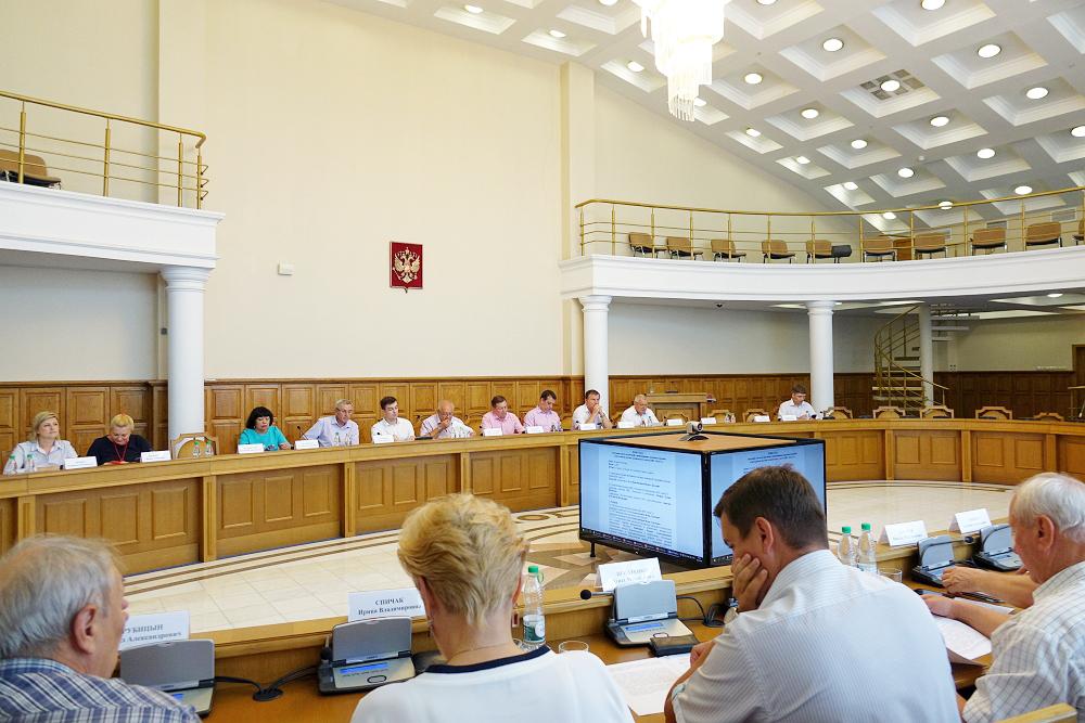 Состоялся совет по научной и инновационно-производственной деятельности (научно-технического совета) НИУ «БелГУ»