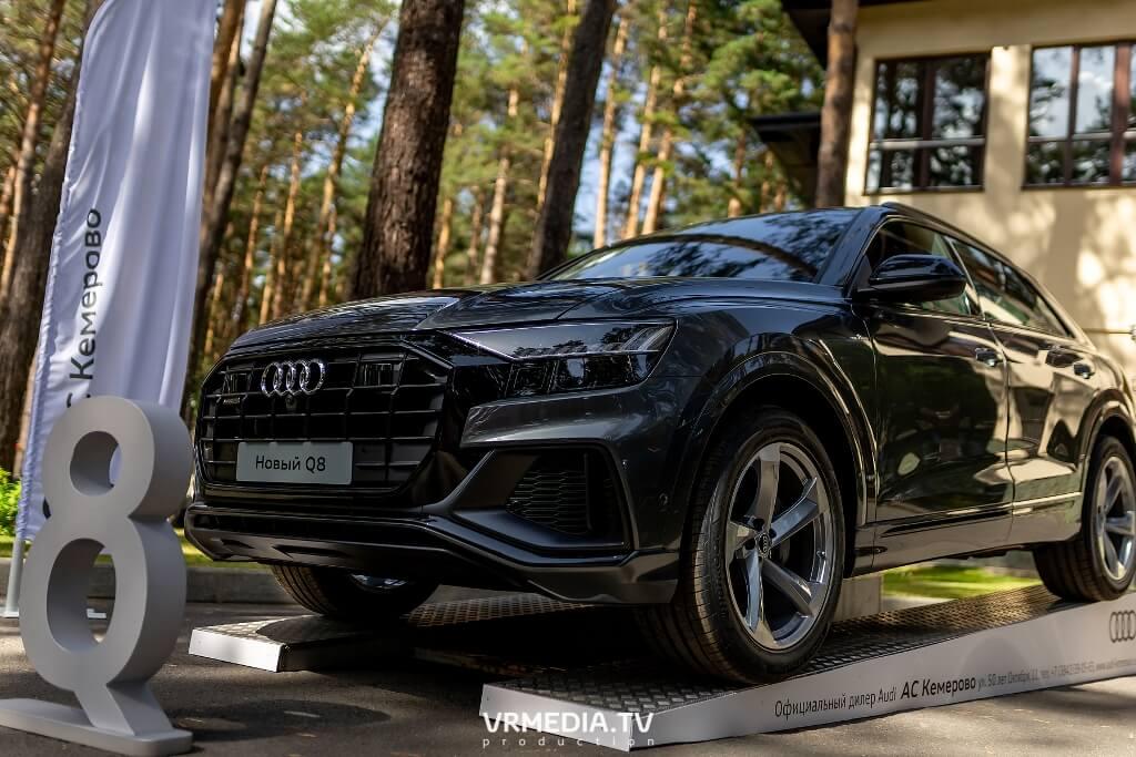 Филиал «Балтийского лизинга» выступил партнером тест-драйва модельного ряда Audi