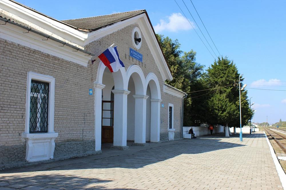В Крыму отремонтируют платформу станции Азовская