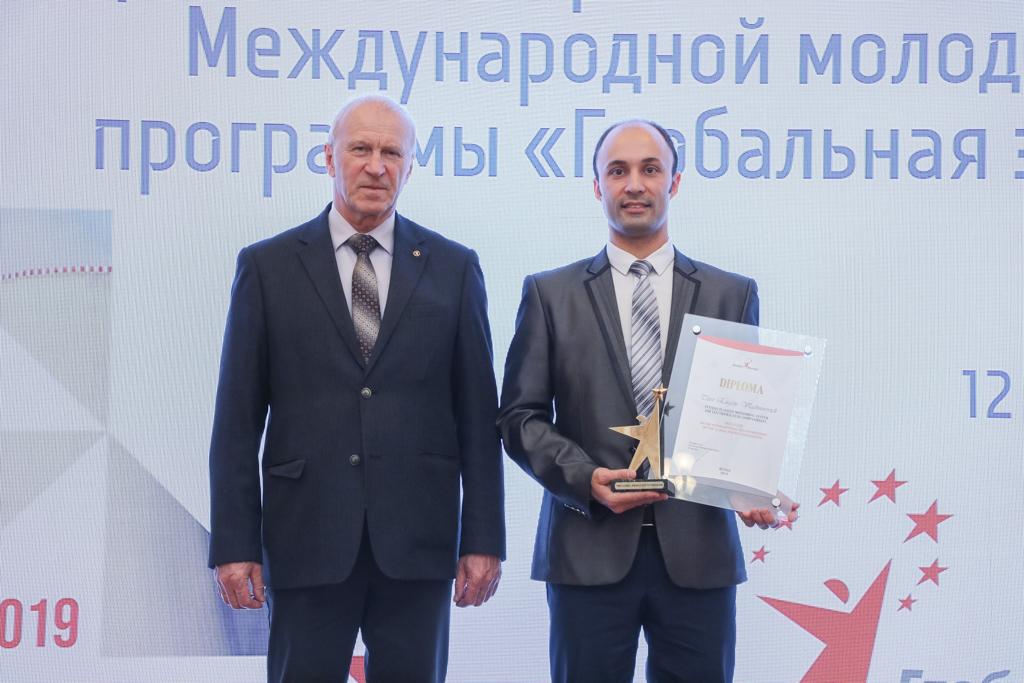 Молодой ученый АлтГТУ получил награду от «Глобальной энергии»