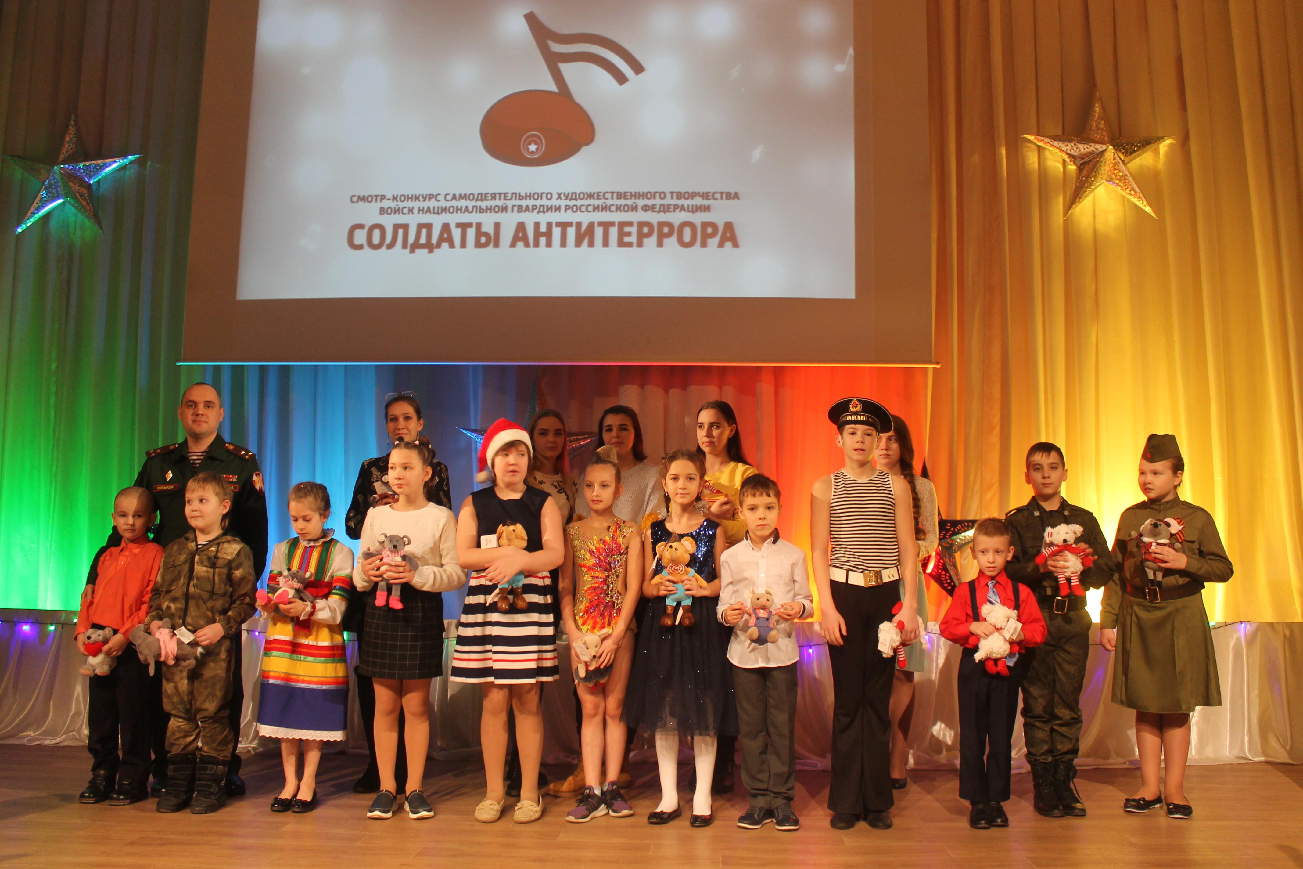 В дивизии Сибирского округа Росгвардии прошел конкурс самодеятельного художественного творчества «Солдаты антитеррора»