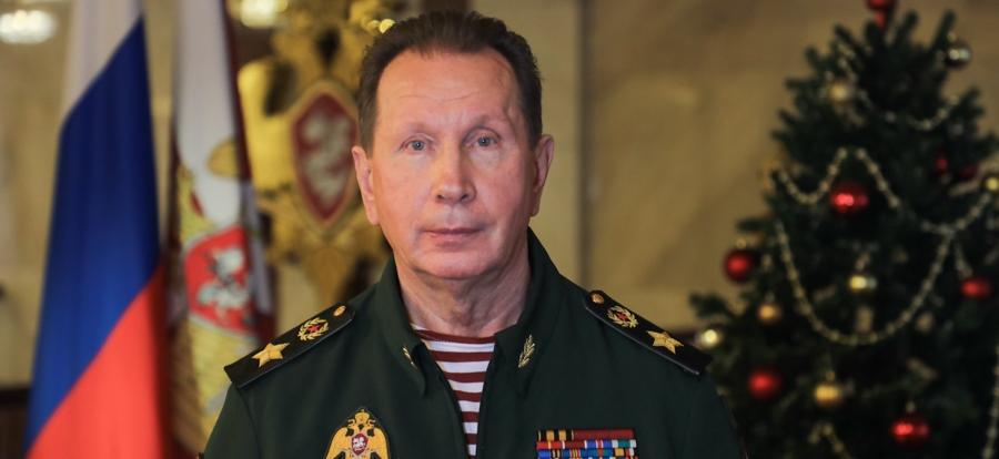 Директор Росгвардии генерал армии Виктор Золотов поздравил личный состав ведомства с наступающим Новым годом и Рождеством