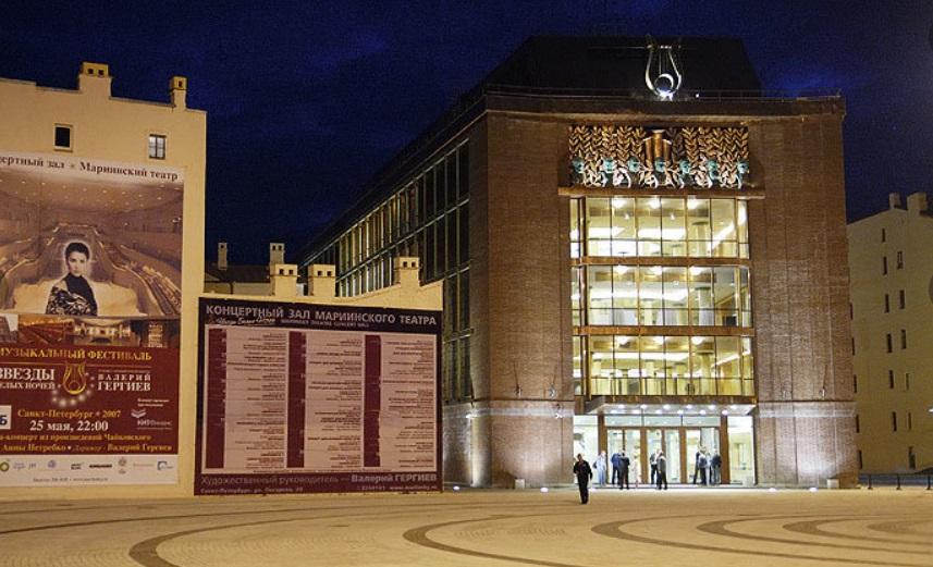 Продолжается строительство Южного корпуса Концертного зала Мариинского театра