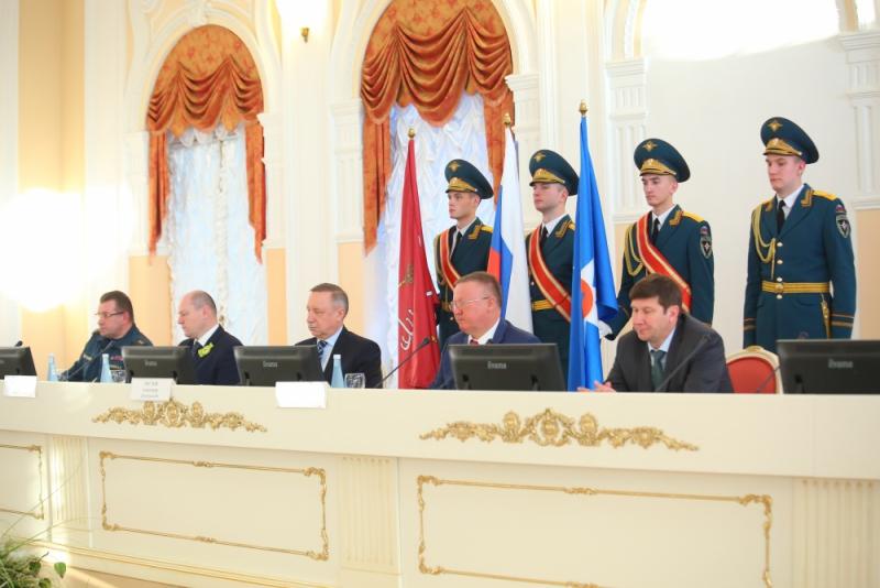 В Санкт-Петербурге подвели итоги деятельности РСЧС Северо-Западного региона России в 2018 году