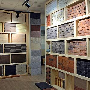 Проект освещения шоу-рума стройматериалов от компании Триалайт