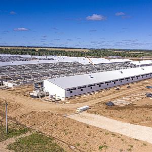 Одна из крупнейших поставок ТСП «Металл Профиль» для агрокомплекса