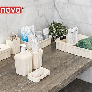 Линейка Velvet от Econova пополнилась  аксессуарами для ванной комнаты