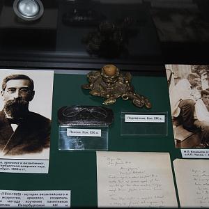 В Белгороде работает выставка, посвящённая именным и тематическим аудиториям НИУ «БелГУ»