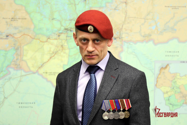 В Югре ко всероссийскому проекту «Я служил в Росгвардии» подключился ветеран спецназа