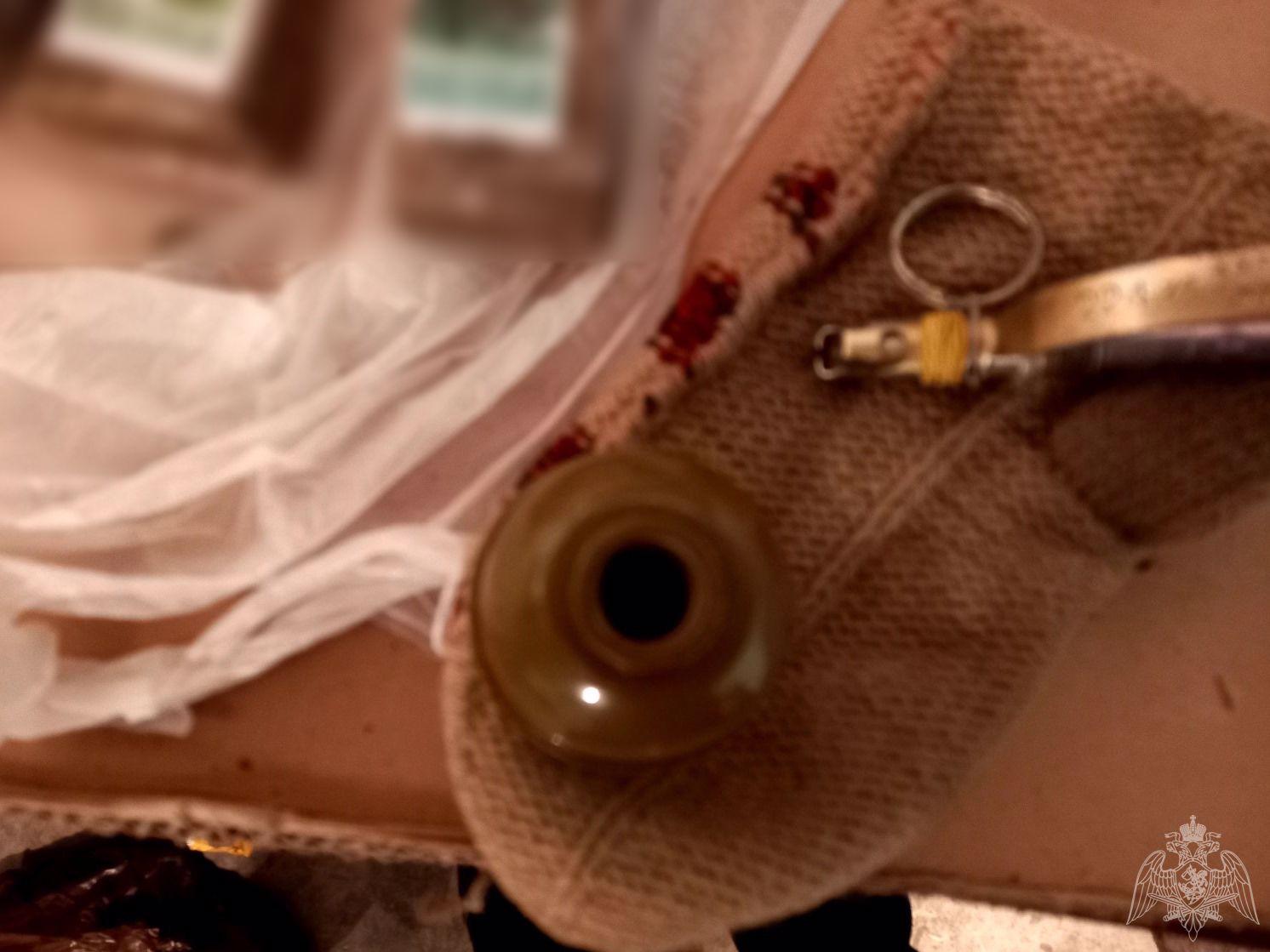 В Югре сотрудники ОМОН Росгвардии обезвредили взрывоопасный предмет