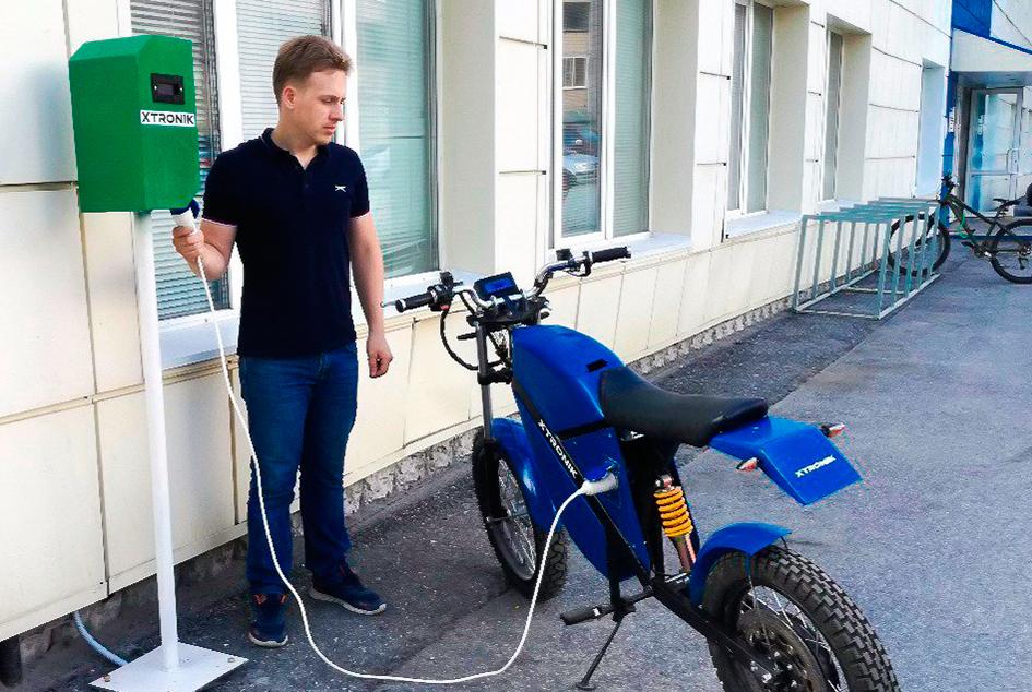 ТУСУР разрабатывает приложение по удалённому управлению зарядом электромобилей