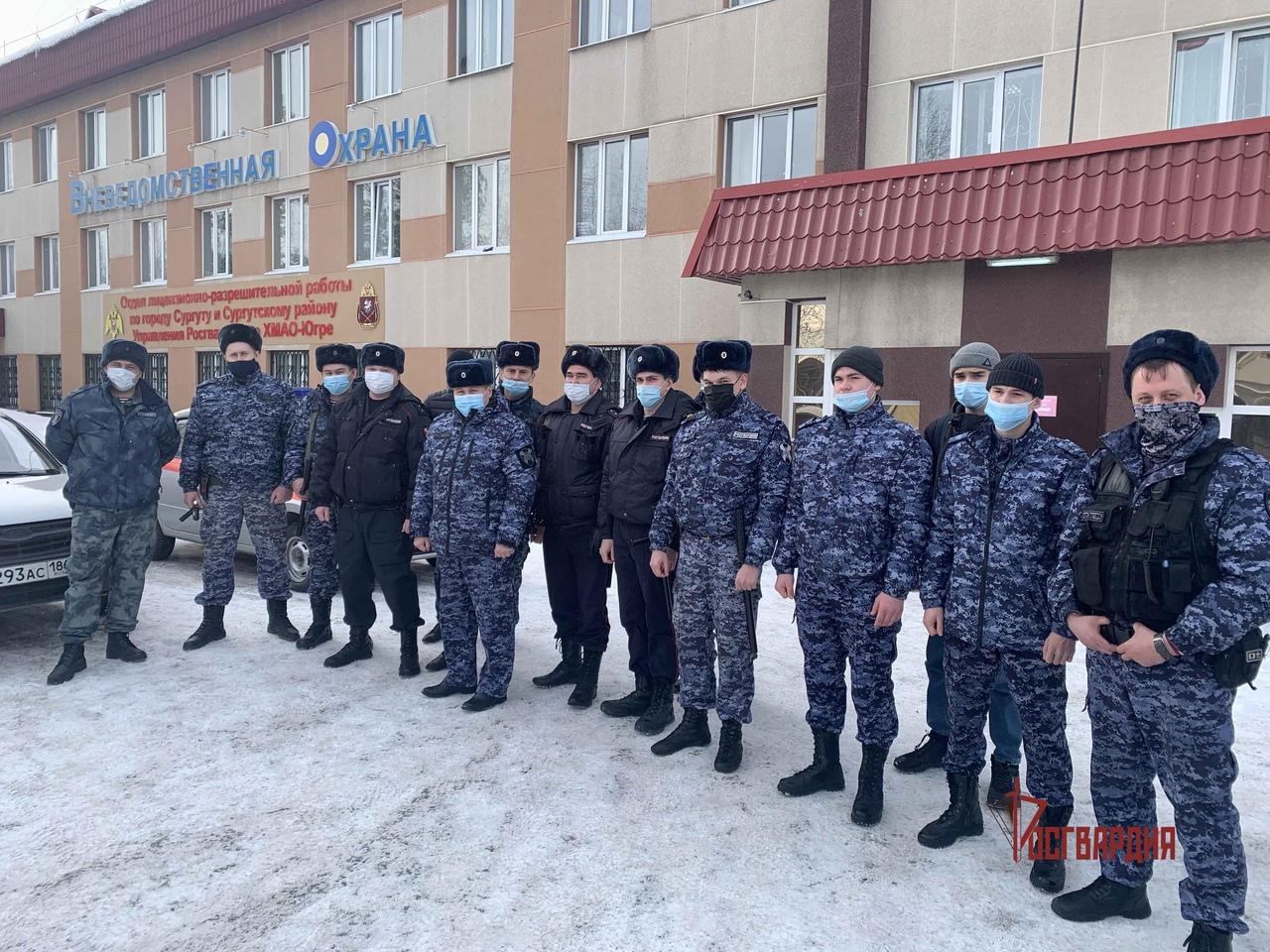 Батальон полиции вневедомственной охраны Сургута отметил 27-ю годовщину со дня образования