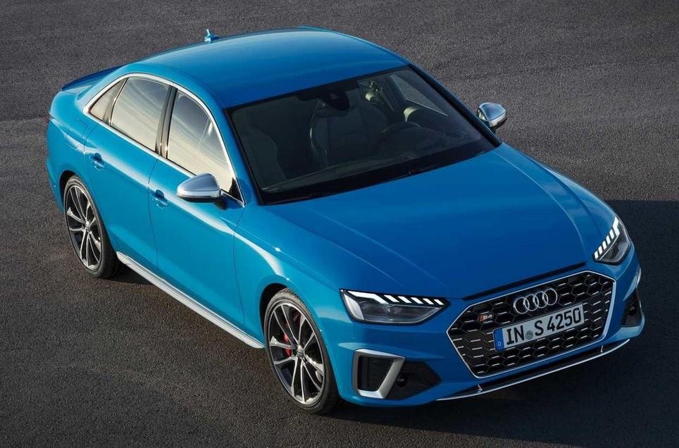 Audi A4 визуально визуально сильно изменилась