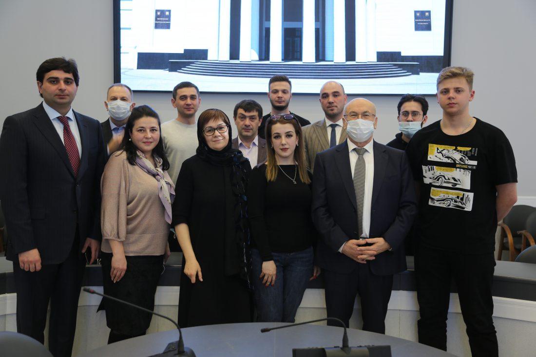 КБГУ наградили за помощь в период пандемии
