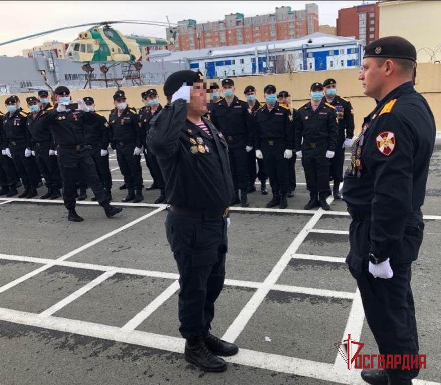 Сургутский ОМОН «Стерх» отметил 7-летие со дня образования