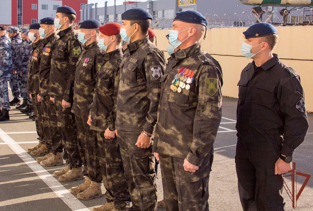 В Ханты - Мансийском округе отметили день специальных отрядов быстрого реагирования