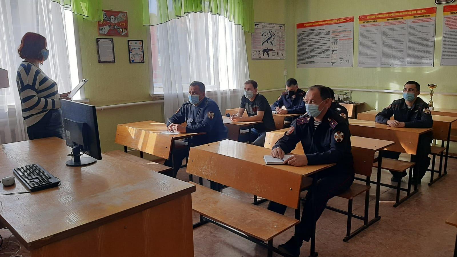 В Башкирии росгвардейцы приняли участие в патриотической викторине