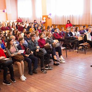 СГМУ продолжает профориентационную работу с будущими абитуриентами: в фокусе внимания – Романовский район