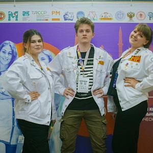 Студенческий отряд «МедАльянс» Саратовского ГМУ стал победителем Всероссийского конкурса профессионального мастерства «Труд крут»