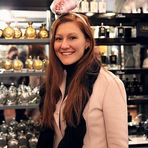 Презентация BeretkAh...!  в парфюмерном бутике Avery